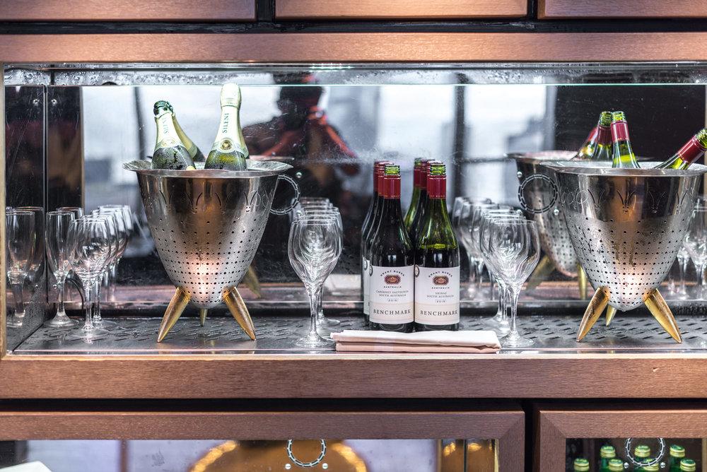 Evening Cocktails and Canapés  Executive Lounge - Conrad Hong Kong