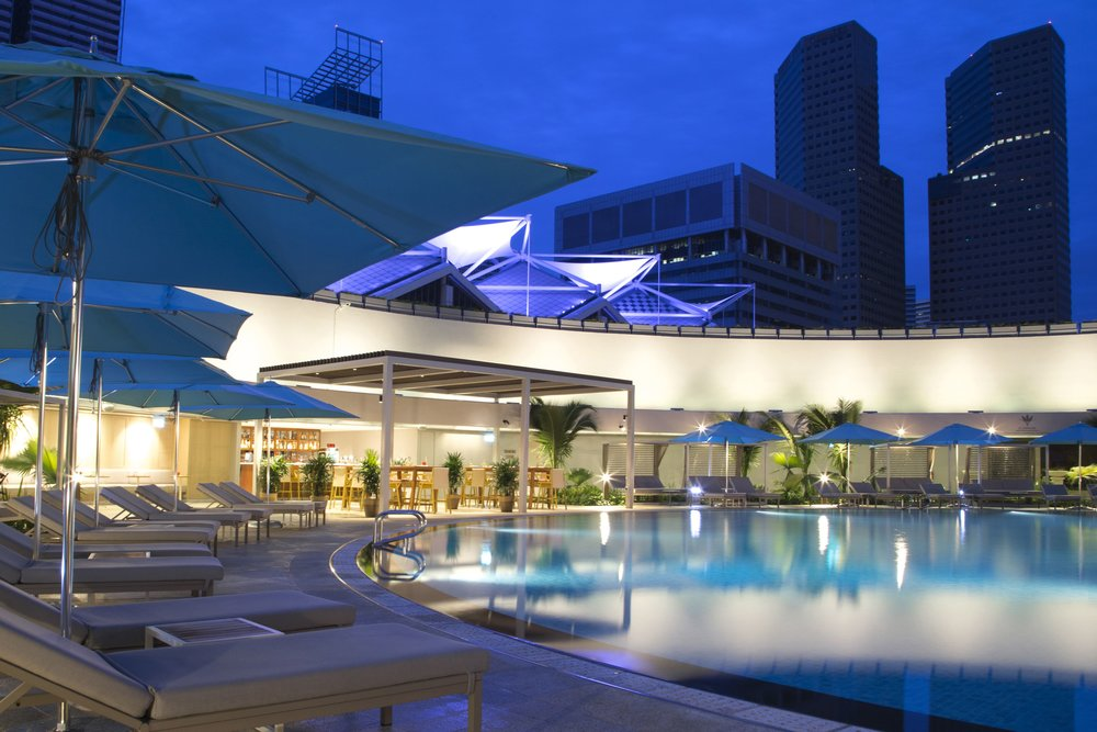 Swimming Pool | Photo Credit: Pan Pacific Singapore