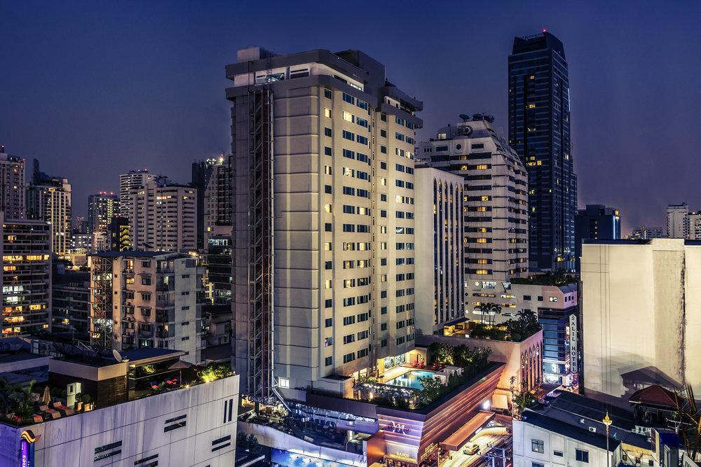 Hotel Exterior | Photo Credit: Mercure Bangkok Sukhumvit 11