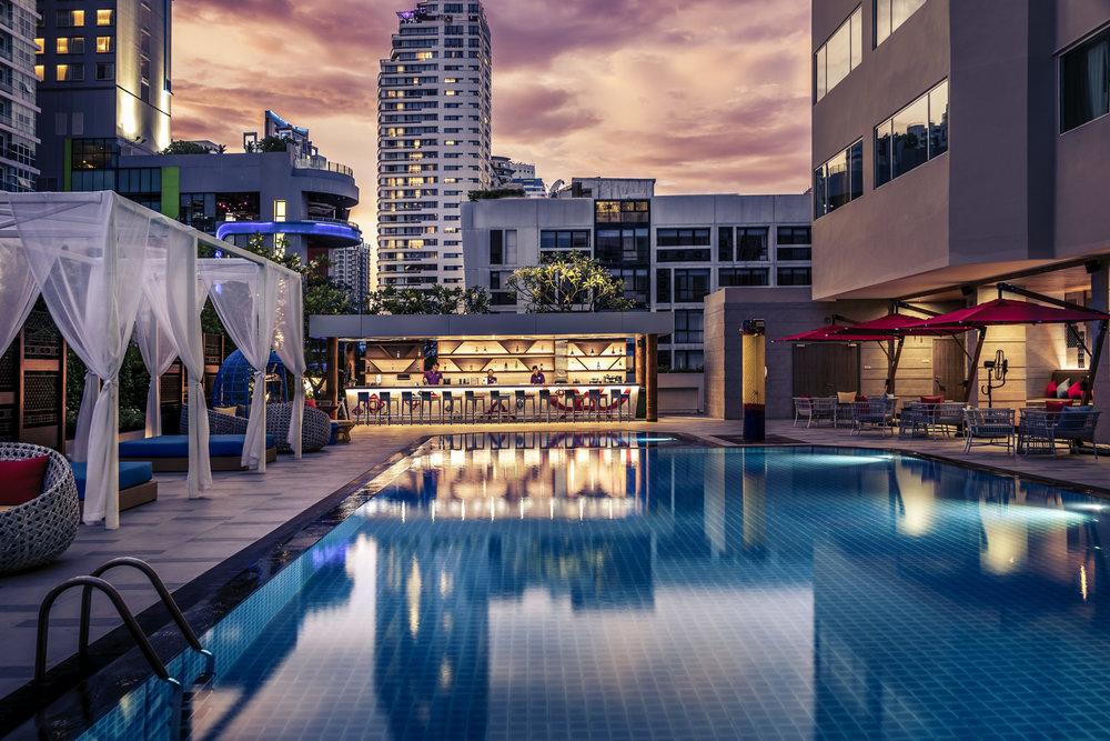 Swimming Pool | Photo Credit: Mercure Bangkok Sukhumvit 11