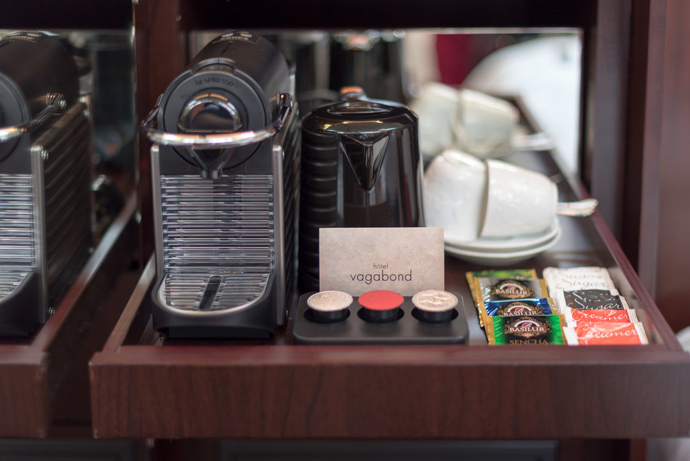 Nespresso Coffee Machine  Art Executive Club Suite - The Vagabond Club, A Tribute Portfolio Hotel, Singapore