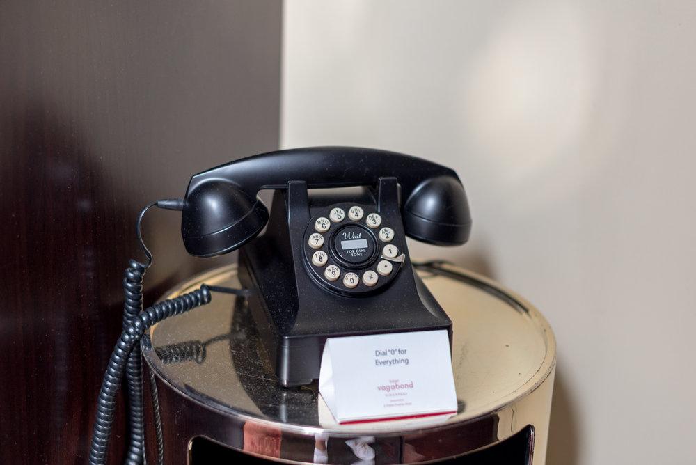 Room Phone Art Executive Club Suite - The Vagabond Club, A Tribute Portfolio Hotel, Singapore