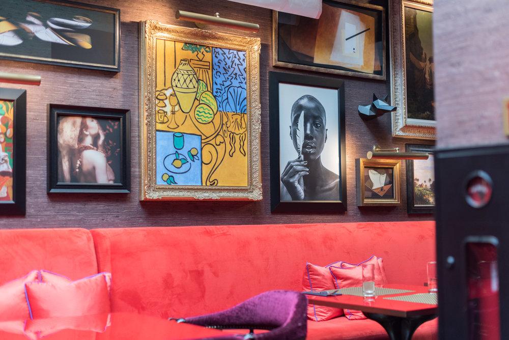 Seating Area Vagabond Executive Club Lounge -The Vagabond Club, A Tribute Portfolio Hotel, Singapore
