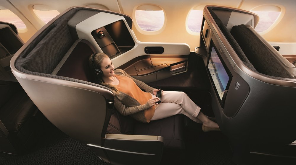 New Business Class | Photo Credit: Singapore Airlines
