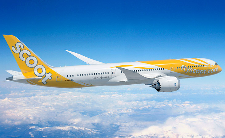 Dreamliner 787 | Photo Credit: Scoot