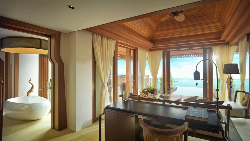 Ocean View Pool Villa | Photo Credit: The Ritz-Carlton, Koh Samui