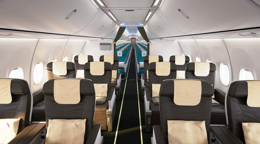 Sky Interior on Boeing 737 MAX 8 | Photo Credit: SilkAir