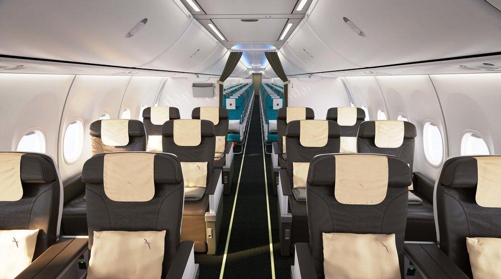 Sky Interior on Boeing 737 MAX 8 | Photo Credit: SilkAir