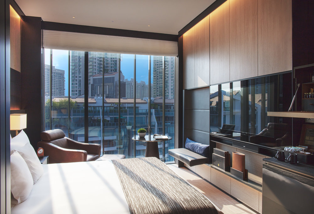 Studio Room | Photo Credit: InterContinental Singapore Robertson Quay