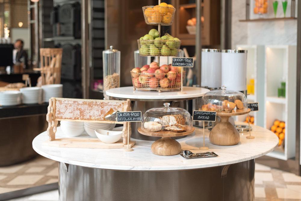 Buffet Breakfast  Racines - Sofitel Singapore City Centre