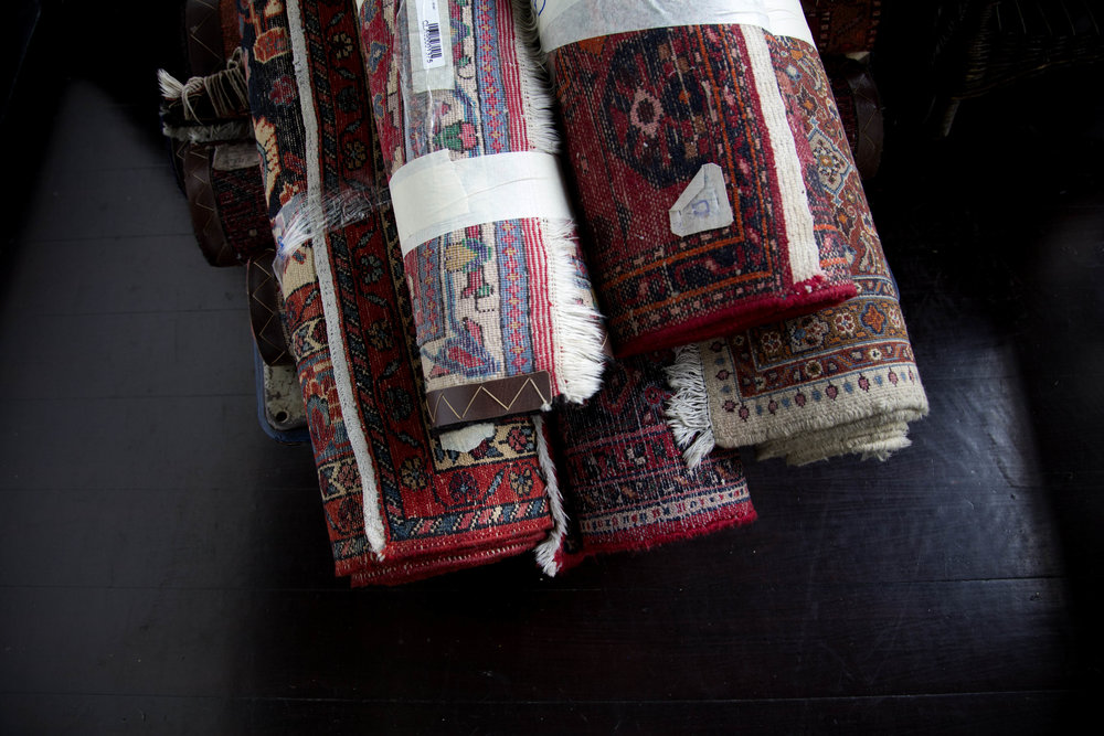 Antique Carpets | Photo Credit: Raffles Singapore
