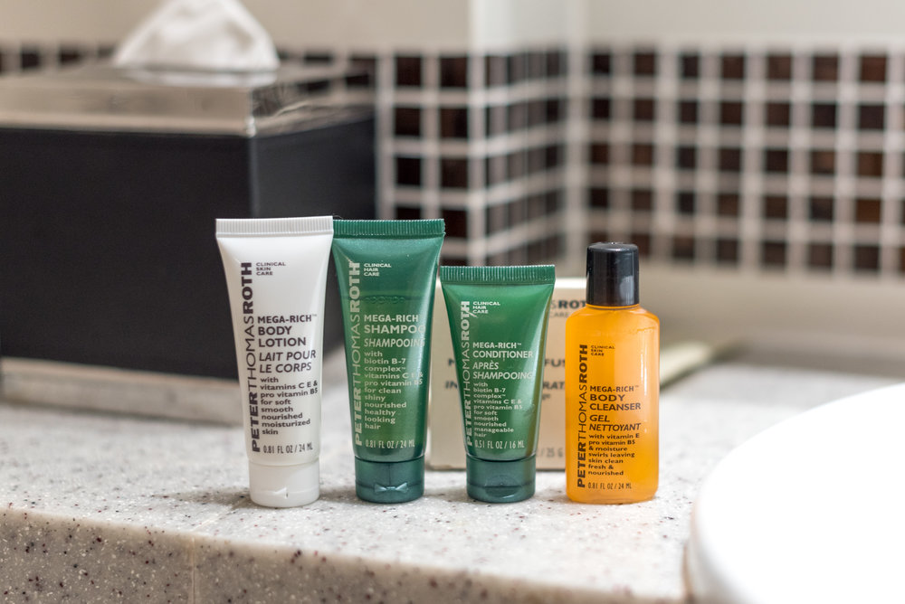 Bath Amenities from Peter Thomas Roth King Deluxe Room with Balcony - Hilton Garden Inn Singapore Serangoon