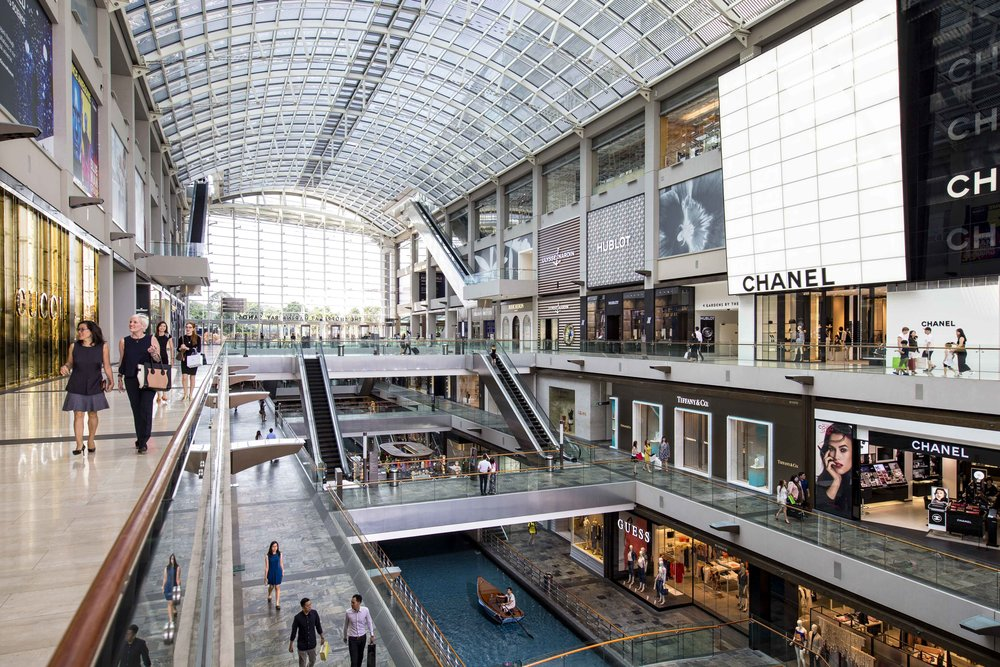 The Shoppes at Marina Bay Sands | Photo Credit: Marina Bay Sands
