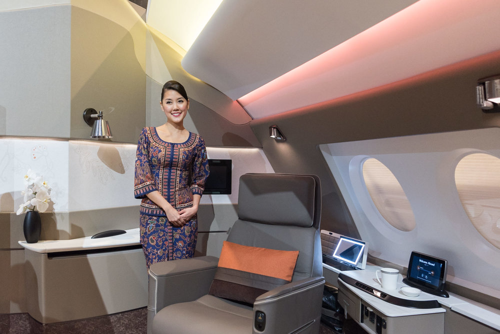 New Suites (2017) Product on Singapore Airlines' A380