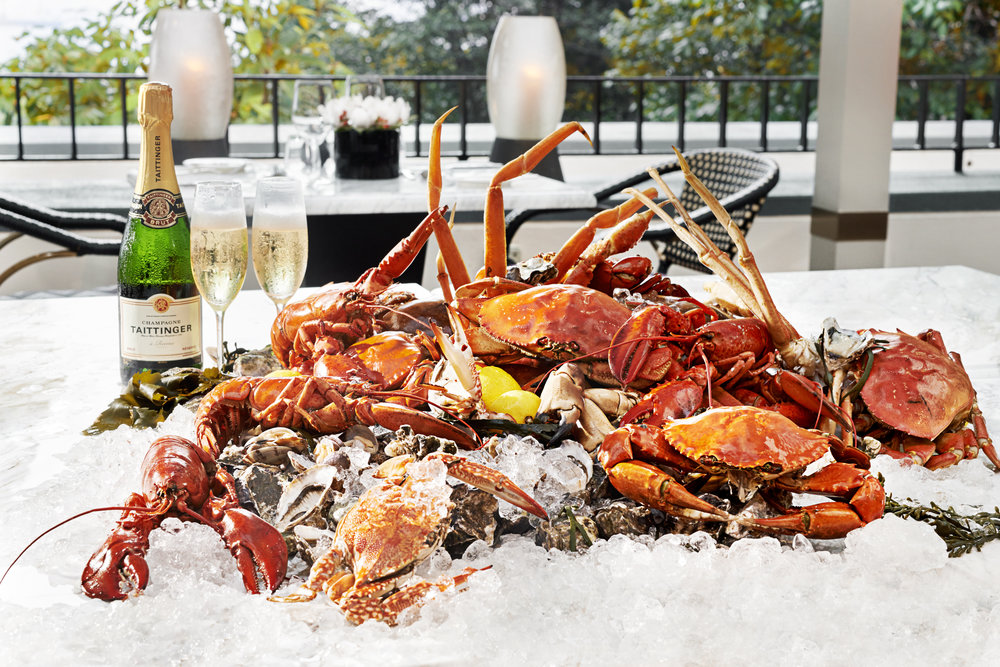 Seafood Spread | Photo Credit: AccorHotels