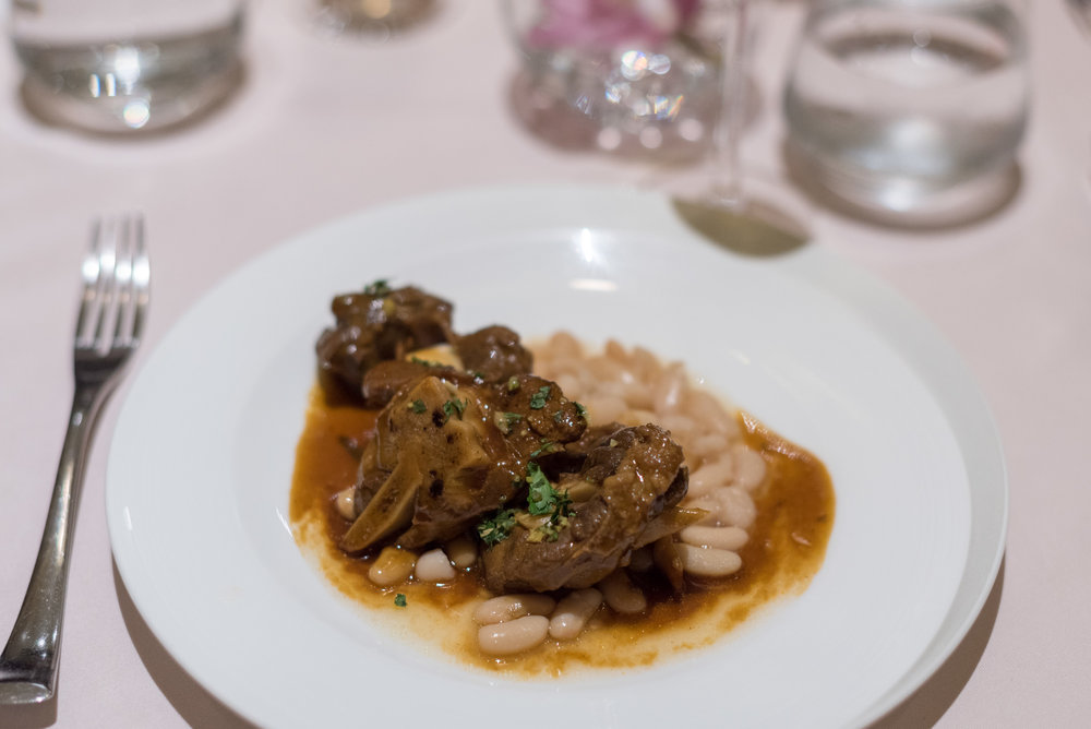 Lamb Shank Ossobuco The Private Room (SilverKris Lounge) - Terminal 3, Changi Airport