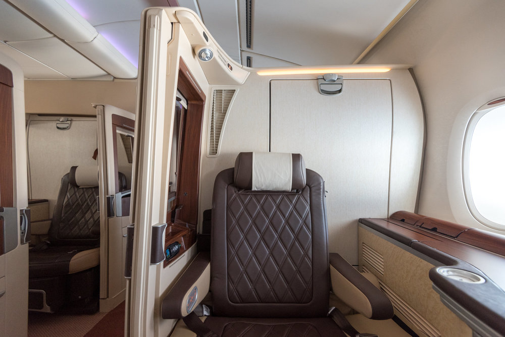 Suite 3A Singapore Airlines Suites SQ802 A380-800 - SIN to PEK