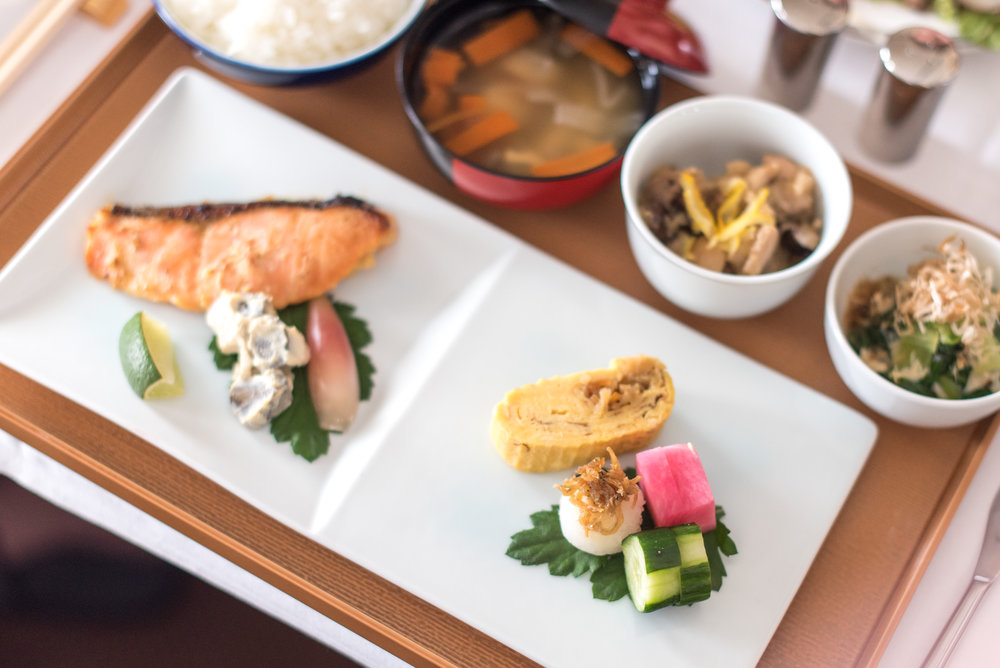 Kyo Kaiseki (Book the Cook) Second Course - Brunch Service Singapore Airlines Suites SQ802 A380-800 - SIN to PEK