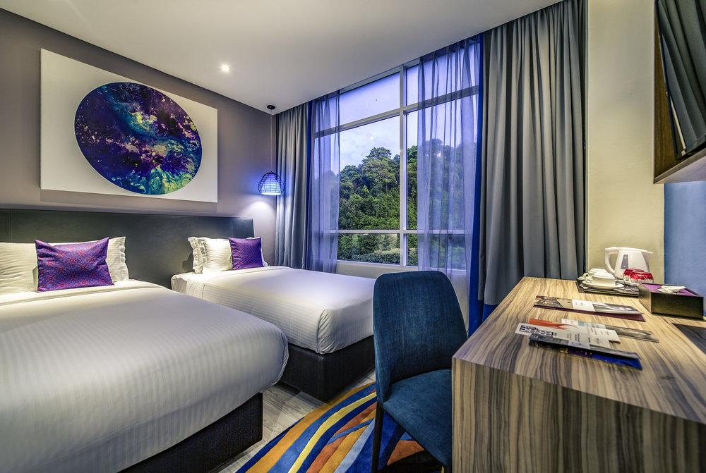 Superior Twin Room | Photo Credit: Mercure Kota Kinabalu City Centre