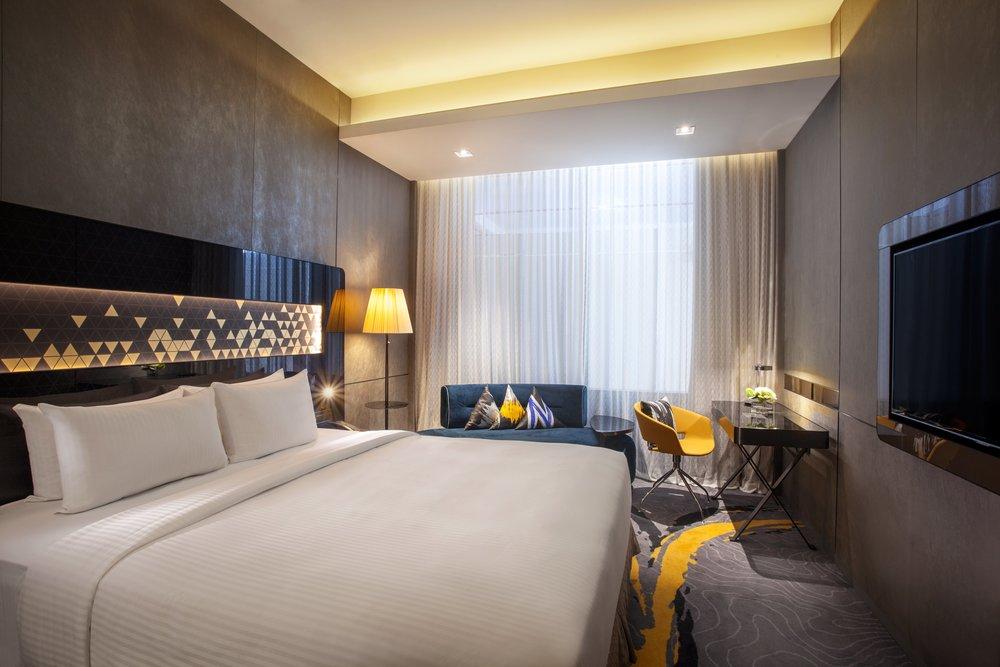 Guest Room | Photo Credit: Novotel Singapore on Stevens