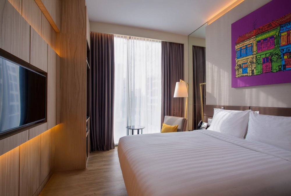 Guest Room | Photo Credit: Mercure Singapore on Stevens