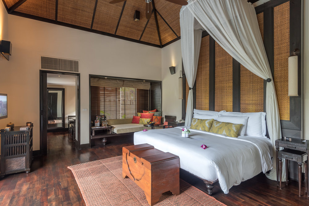 Bedroom  Lagoon Pool Villa -Anantara Mai Khao Phuket Villas