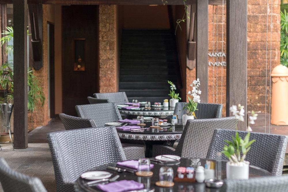 Outdoor Dining Area  La Sala -Anantara Mai Khao Phuket Villas