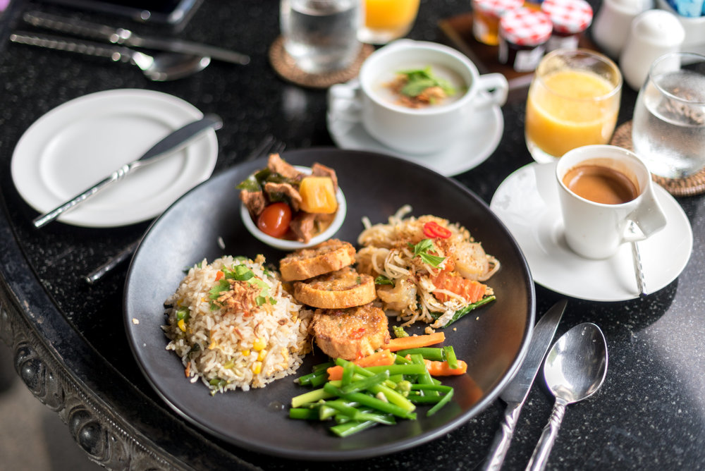 Buffet Breakfast  La Sala -Anantara Mai Khao Phuket Villas