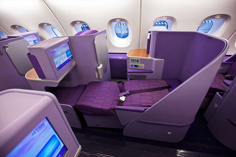 Royal Silk Class | Photo Credit: Thai Airways
