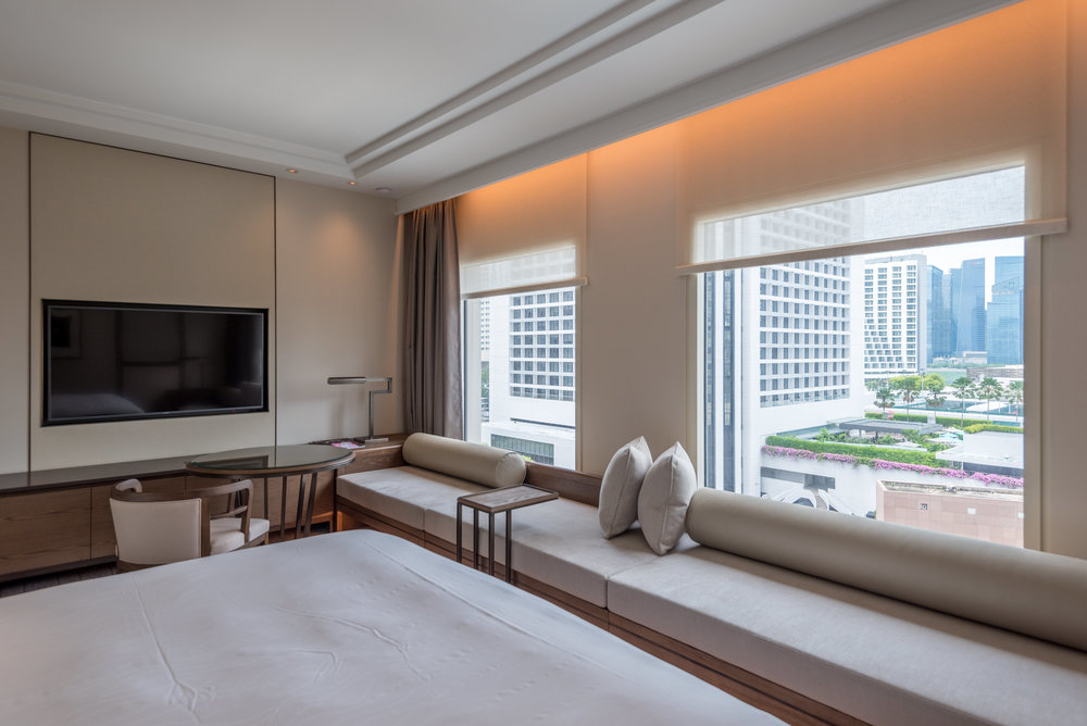 Deluxe Room in Conrad Centennial Singapore