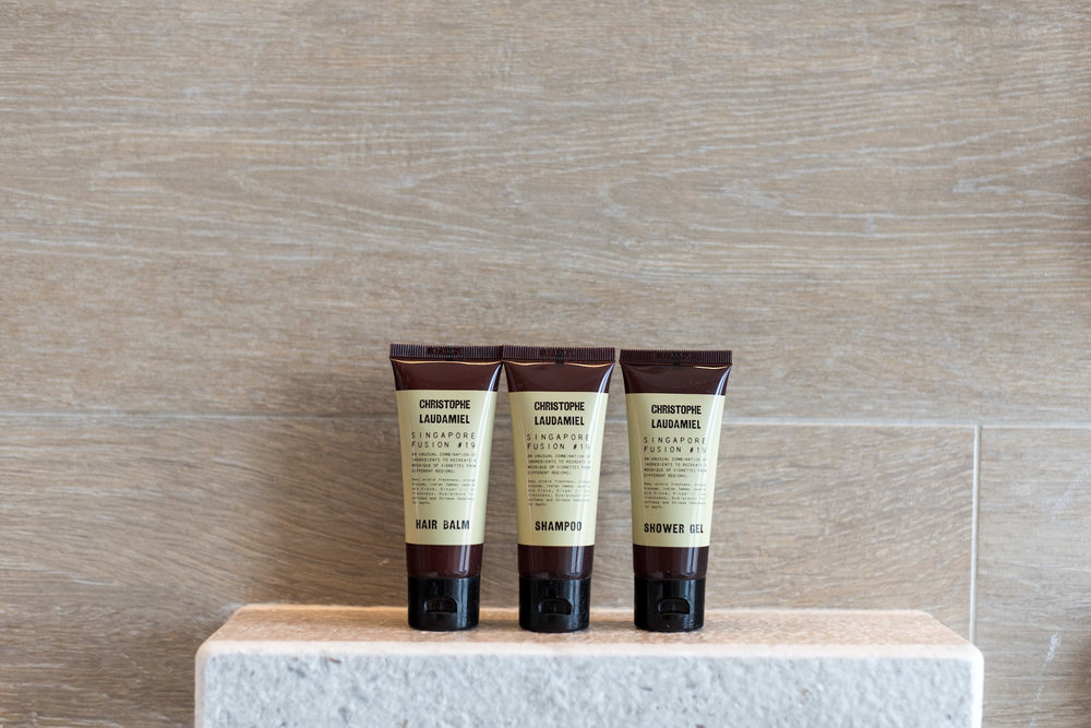 Bath Amenities by Christophe Laudamiel    Andaz Suite King - Andaz Singapore