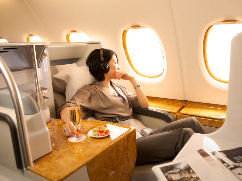 Business Class | Photo Credit: Emirates
