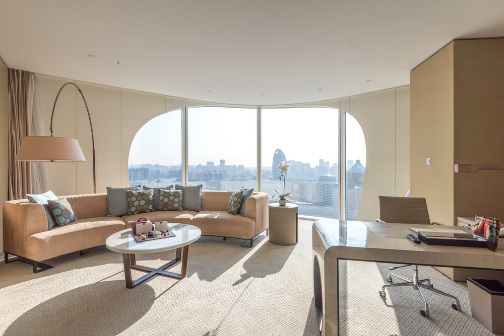 Living Room  Executive Suite - Conrad Beijing
