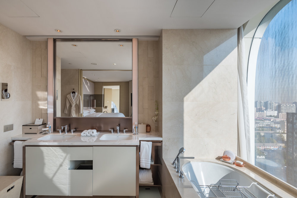 Bathroom  Executive Suite - Conrad Beijing