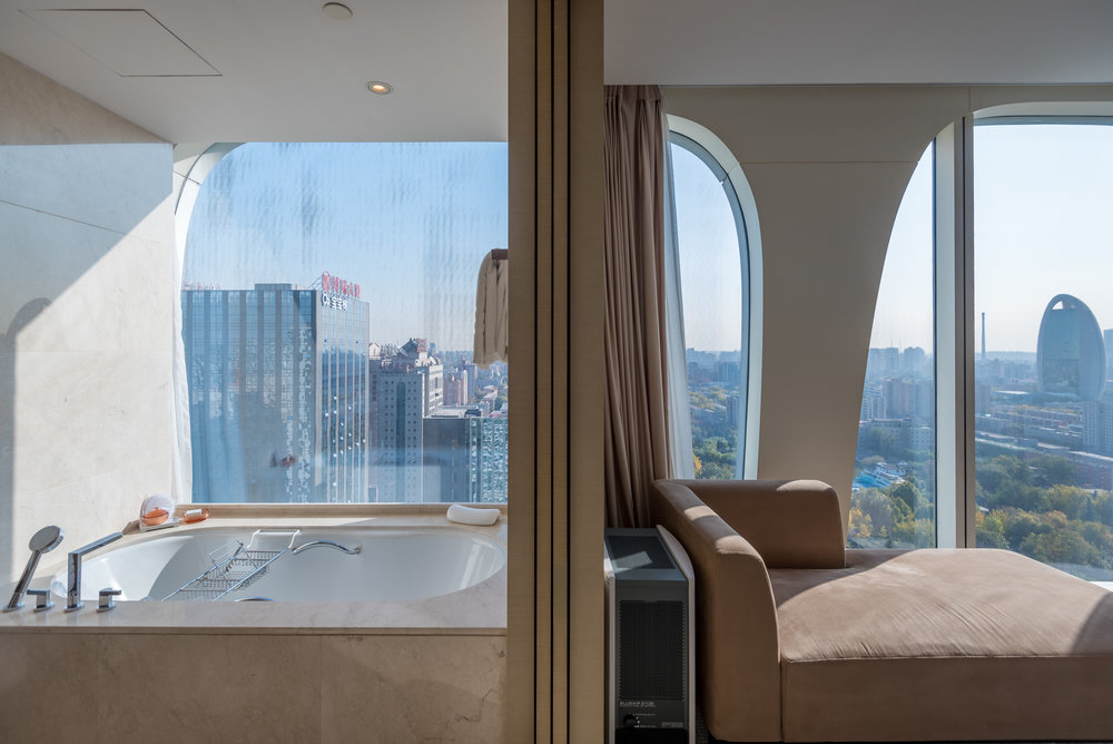 Bathtub  Executive Suite - Conrad Beijing