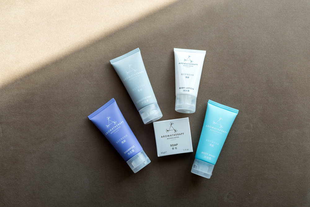 Bath Amenities by Aromatherapy Associates  Executive Suite - Conrad Beijing