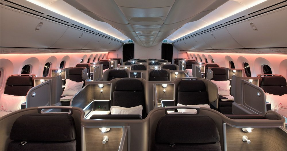 New Business Class | Photo Credit: Qantas