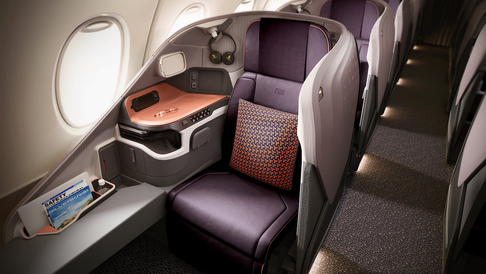 New Business Class on A380 | Photo Credit: Singapore Airlines
