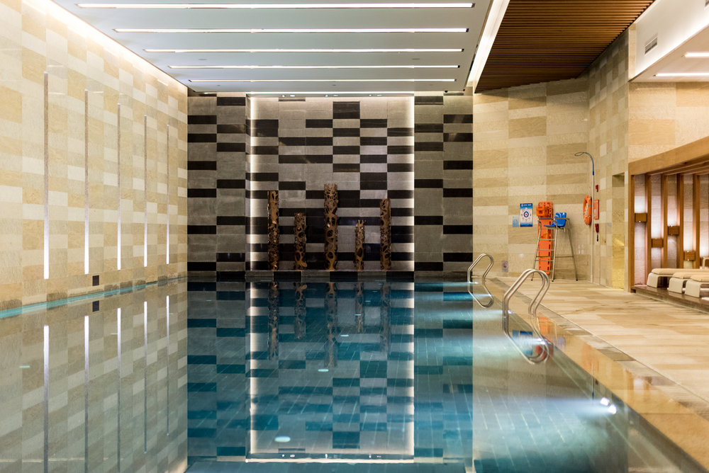 Indoor Swimming Pool  Conrad Beijing