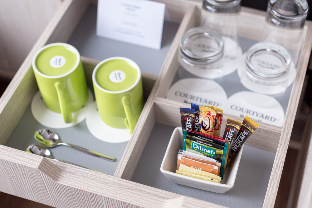Complimentary Teabags  Premier Skyline Room - Courtyard by Marriott Singapore Novena