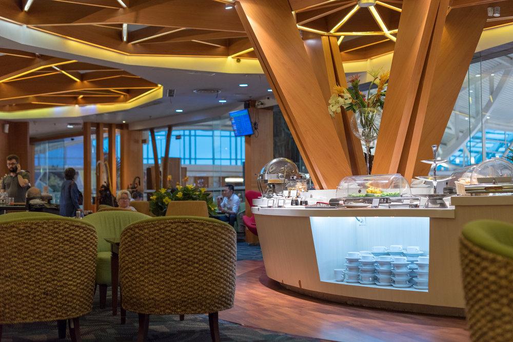 Buffet Area  Premier Lounge - Ngurah Rai International Airport (DPS)