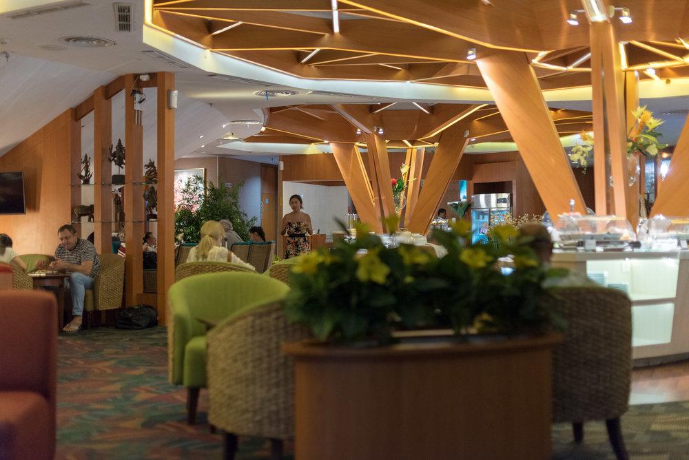 Interiors  Premier Lounge - Ngurah Rai International Airport (DPS)