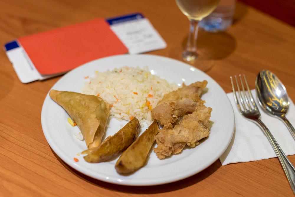 Selection of Hot Food  Premier Lounge - Ngurah Rai International Airport (DPS)