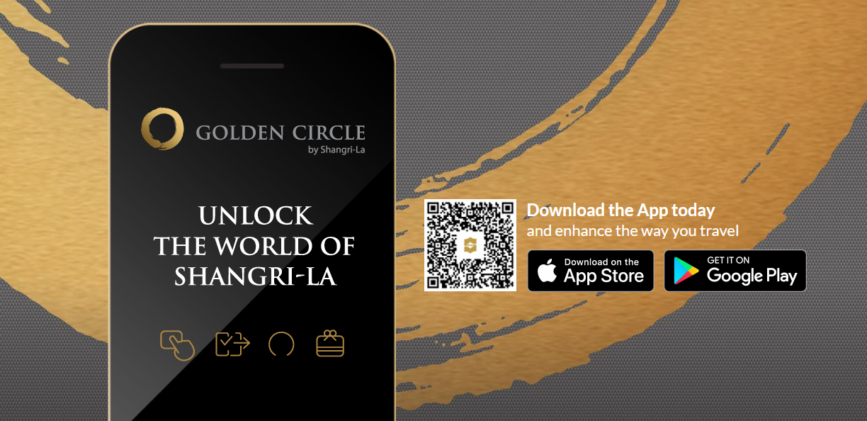 Shangri-La Hotels & Resorts New Mobile App gives you Triple Golden Circle Points