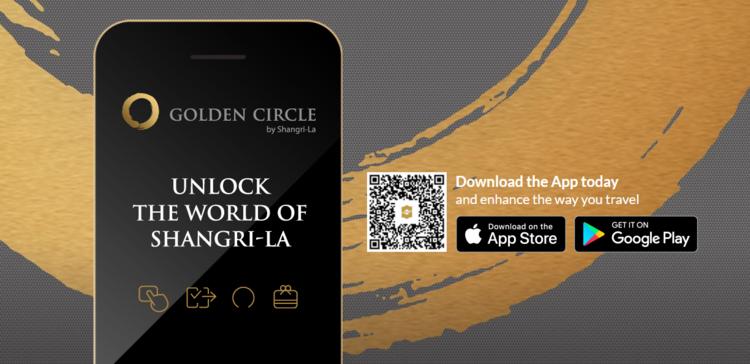 Shangri-La Hotels & Resorts New Mobile App gives you Triple Golden