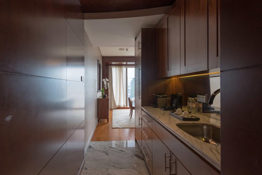 Pantry  Grand Executive Suite - Grand Hyatt Kuala Lumpur