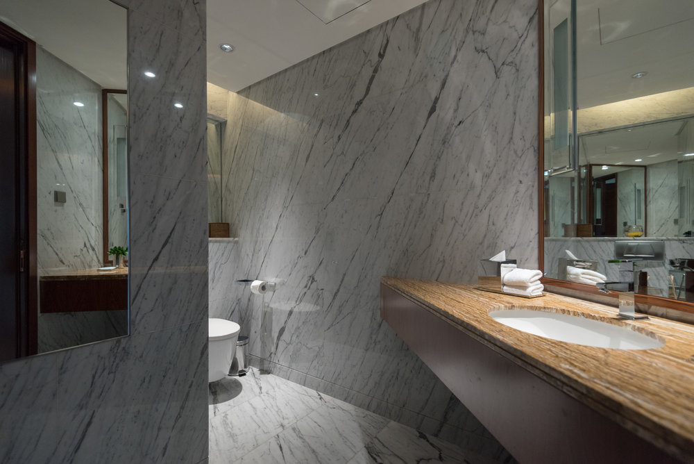 Powder Room (Guest Bathroom)  Grand Executive Suite - Grand Hyatt Kuala Lumpur
