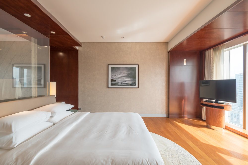 King-size Bed  Grand Executive Suite - Grand Hyatt Kuala Lumpur