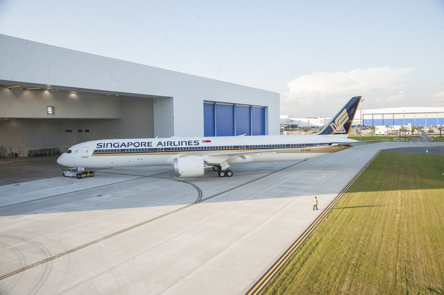Singapore Airlines to debut 787-10 Dreamliner in May 2018 - First Official Route is Osaka (KIX)