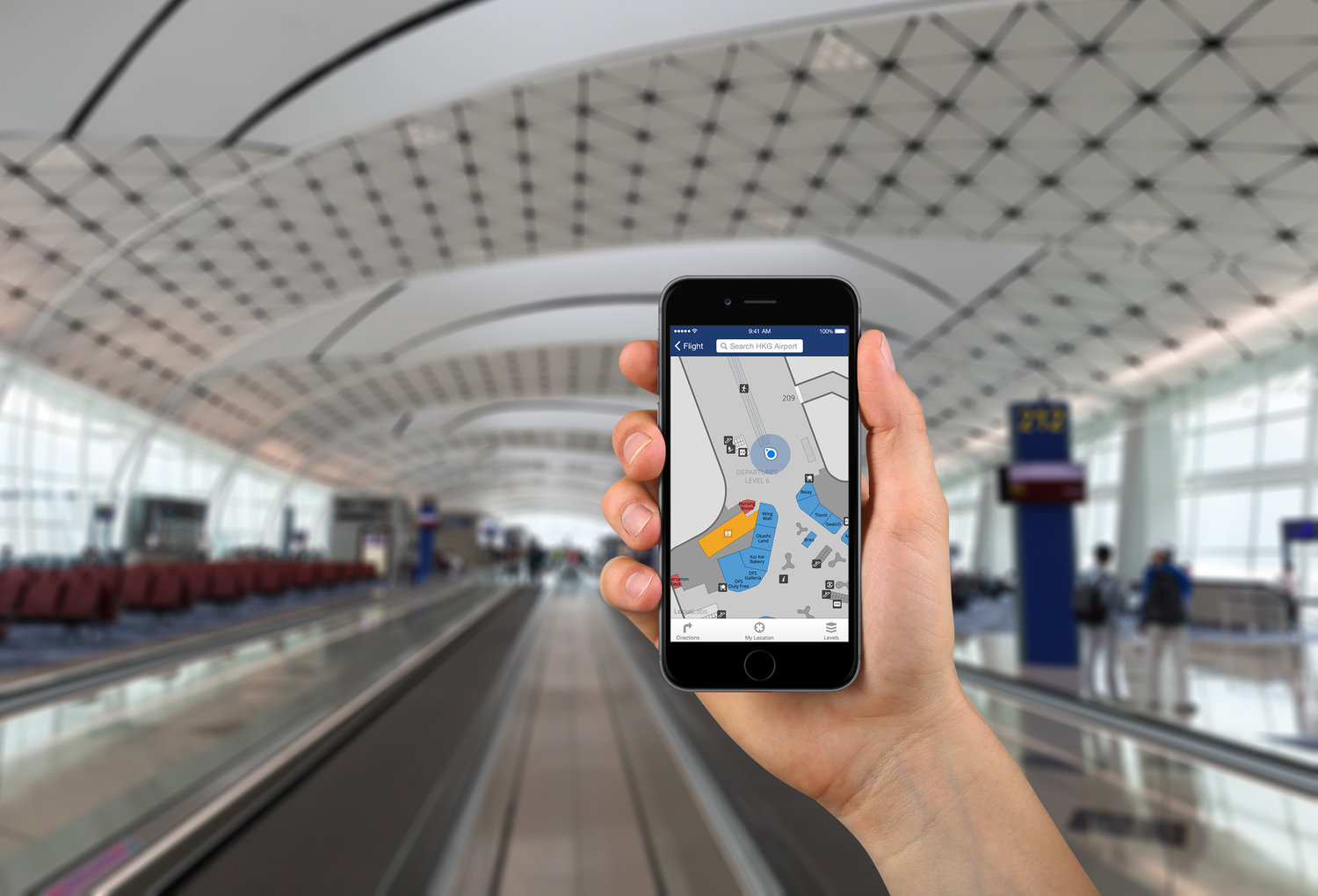 Priority Pass to integrate Indoor Mapping and Wayfinding Features into Mobile App